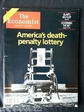 THE ECONOMIST - AMERICA'S DEATH PENALTY LOTTERY - JUNE 10 2000