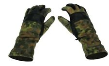 Flecktarn Camo COMBAT GLOVES / General Purpose (LARGE - Size 9) - Army Surplus