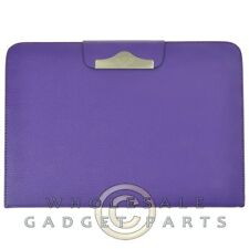 Samsung Galaxy Note 10.1 Folio Stand Leather Case-Purple Cover Shell Protector