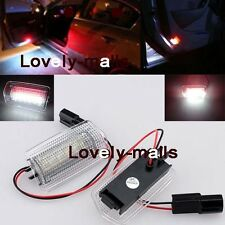 White Red Dual-Color 18-SMD LED Door Lights 2X For Lexus IS ES RX GX LX Toyota