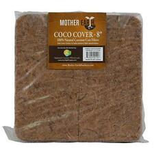 Mother Earth Coco Cover 8 in-10 pack- 100% Natural Coconut Coir Fibers