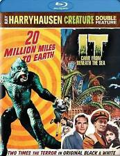 IT CAME FROM BENEATH THE SEA/20 MILLION MILES TO EARTH (Blu-ray Disc, 2014) NEW