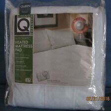 New BIDDEFORD LIVING QUARTERS Queen Size Electric Heated Mattress Pad 2 Controls