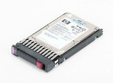 "HP 146 gb 10k sas dual Port 3g 2.5"" hot swap disco duro 418399-001"
