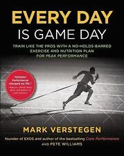 NEW Every Day Is Game Day: TRAIN PRO EXERCISE Nutrition Plan  PEAK PERFORMANCE