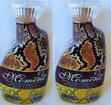 Lot of 2 Le Moment Bronzer Anti-aging Tanning Lotion Devoted Creations NEW