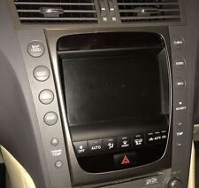 2005-2009 LEXUS GS 430 GS 300 CENTRE TOUCH SCREEN MONITOR CONTROLS COMPLETE