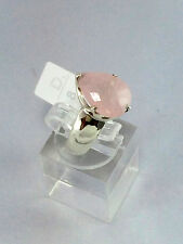 PRECIOUS BOHEMIAN STYLE GENUINE PINK MORGANITE RING STERLING SILVER 925 QUALITY