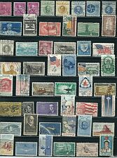 USA - Very Nice  50 different Older 4c Used Stamps   ...............# 6O20