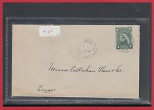NFLD St. John's 1908 Canada cover