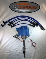 Jeep AMC GM HEI Distributor BLUE + Plug wires CJ5 CJ7 YJ 258 - (1) WIRE HOOKUP