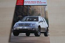 138111) Suzuki Grand Vitara XL-7 Prospekt 02/2004