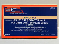 LIONEL LEGACY LAYOUT CONTROL SYSTEM DB9 POWER SUPPLY & CABLE o gauge 6-81499 NEW