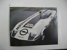 OPEL DIESEL POWERED REKORD 2100 D1972 REKORDWAGEN MOBIL OIL PRINT AD