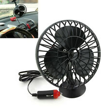 Auto Car Fan Portable Oscillating 12V Lighter Truck Boat Mini Air Cooler Summer