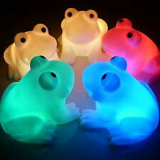 Magic LED Night Light  Frog Shape Colorful Changing Lamp Room Bar Perfect Decor