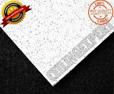 ARMSTRONG CORTEGA FLAT CEILING TILES BOARD 600 x 600mm SQUARE EDGE 24MM GRID UK