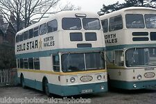 Gold star, St Asaph END853D Bus Photo Ref P880