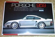 Porsche 959 Plastic Model Kit