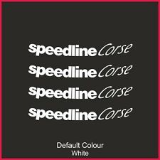 "Speedline Turini Outer Rim Decals for 17"" rims, Alloys, Wheels, N2143"