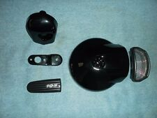 OEM HARLEY DAVIDSON TOURING AIR CLEANER HORN COMBO GLOSS HD BLACK FLHX FLHT FLTR