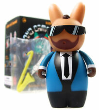Kidrobot BAND CAMP 3000 LABBITS Mini Series SNAPS COLEMAN Vinyl Figure Labbit