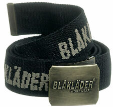 Blaklader Stretch Work Belt (Antique Brass Buckle with Logo)