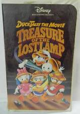 DUCK TALES THE MOVIE TREASURE OF THE LOST LAMP (VHS,1991) WALT DISNEY  CLASSIC