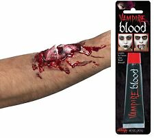 Halloween Fake Broken Bone Scar Zombie MakeUp Wound With Glue + Blood 37153+9430