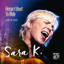 "* STOCKFISCH - SFR357.9003 - SARA K. - ""HORSE I USED TO RIDE"" - LIVE IN 2001 *"