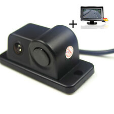 "Car Parking Reversing Radar Rear View Camera Alarm System + 4.3"" Display Monitor"