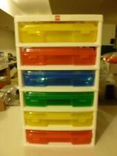 Iris Lego 6-Case Workstation Storage Unit with 1 Base Plate Free Shipping