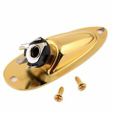 Guitar Output Jack Cup Plate Socket for Stratocaster ,Gold Plated