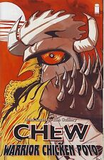 Chew Warrior Chicken Poyo #1 (NM) `14 Layman/ Guillory  (2nd Print)