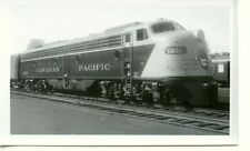 7B780 RP 1951 CN CANADIAN PACIFIC RAILROAD ENGINE #1801