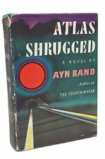 Atlas Shrugged 1957 Ayn Rand First Edition and 1st Printing Classic Book