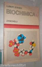 BIOCHIMICA Lubert Stryer Zanichelli 1983 Manuale Scienza Biologia Chimica di e