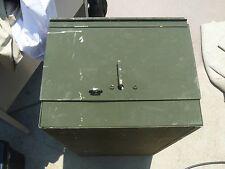 Used US Military Issued Green Foot Locker 30x12x16 Personal Storage Locker 80160