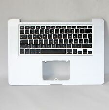 "MacBook pro 15"" a1286 palmrest bloquée Clavier Keyboard 613-7742-b qwerty 2009"