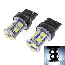 2X T20 7440 13SMD 5050 LED Car Tail Brake Turn Signal Light Lamps Bulb White 12V
