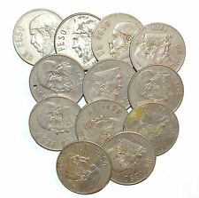 MEXICO lot UNSEARCHED coins UN PESO vintage one large