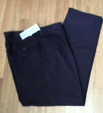 NWT Montain Fog Black Dress Pants 38 x 32,  Fine Poly-Rayon, Pleated (DP29)