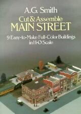 Cut and Assemble Main Street: 9 Easy-To-Make Full-Color Buildings in H-O Scale