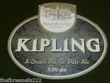 BEER PUMP CLIP - THORNBRIDGE KIPLING SOUTH PACIFIC PALE ALE