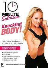 10 Minute Solution: Knockout Body Workout - Kick and Strike DVD NEW