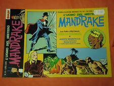 MANDRAKE- n°16 - besa stregone- DI LEE FALK & PHIL DAVIS - EDIZIONI COMIC ART