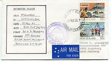 1985 Antarctic Flight Scott Base Ross Dependency New Zealand Polar Cover