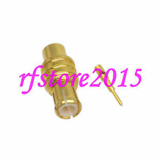 """1pce Connector MCX male plug solder RG405 0.086"""" cable RF COAXIAL straight"""