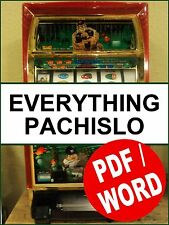 268 Pages EVERYTHING PACHISLO:  The only Pachislo Manual you will need PDF/WORD