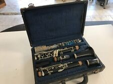 V. Kohlert's Sons Graslitz   Wood Clarinet Made in Czechoslovakia Bb LP